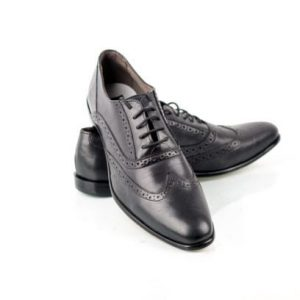 Black Office lace shoe