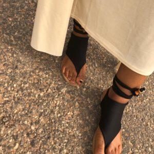 Tie-Up sandal