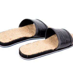 Jute sack slippers