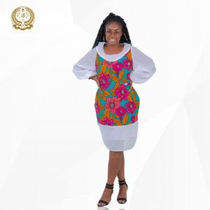 Corporate Ankara Dress