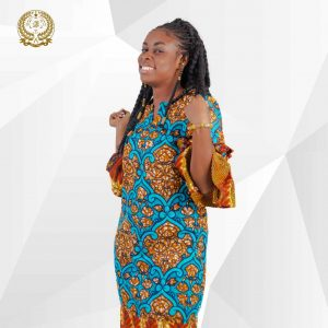 Obaasima Ankara Dress