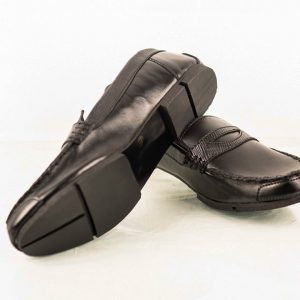 Hand Made black loafer
