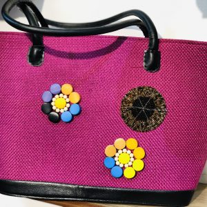 African Handmade Jute bag 9