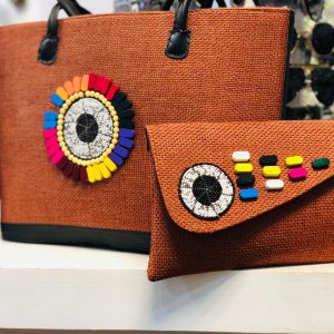 African Handmade Jute Bag 8