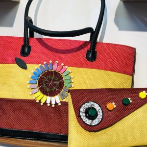 African Handmade jute Bag 1