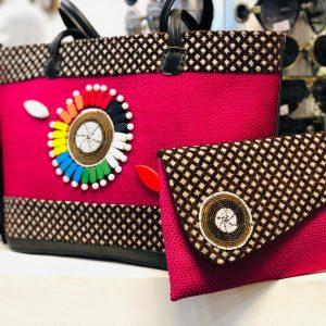 African Handmade Jute bag 7