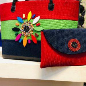African Handmade Jute Bag 5