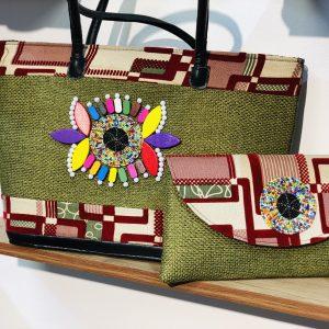 African Handmade Jute bag 3