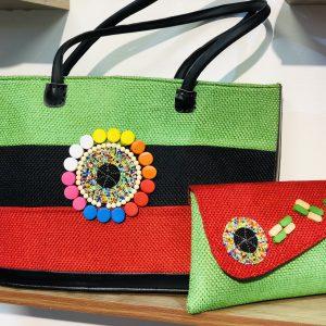 African Handmade Jute Bag 2