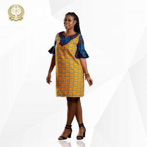Anigye3 Ankara dress