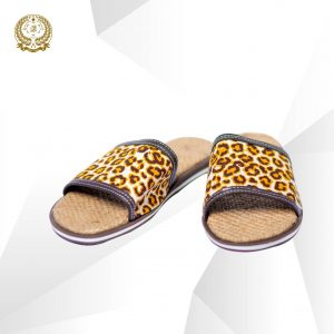 Tiger skin slippers