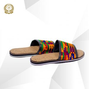Kente Jute slippers
