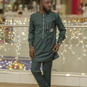 Army Green Kaftan