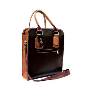 Dark Brown Men Bag