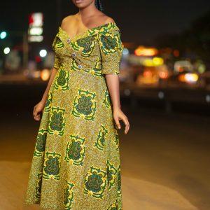 Akyekyede3Akyi Ladies Dress