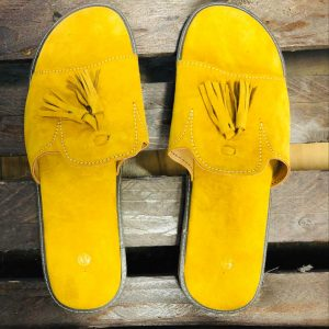 Asaase Yellow Slippers