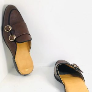 Tan Brown Half shoe