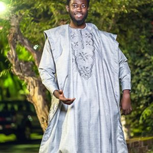 Osikanii Agbada 3 piece suit