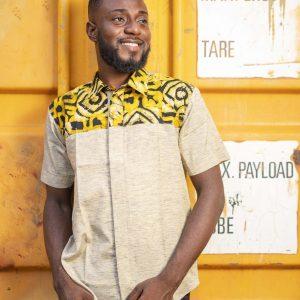 Ivory Batik Shirt