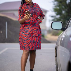Nkunim Ladies Shirt Dress
