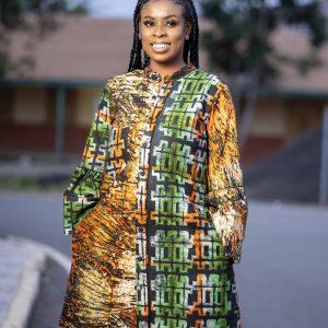 Queeny Batik Dress