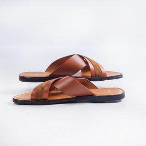 )kodie Crossed slippers