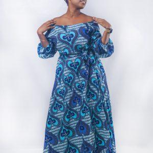 Efya Ankara dress