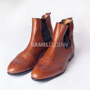 Aboafo) Brown Chelsea boot