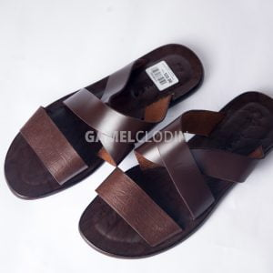 Abranti Pa Leather slippers